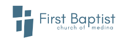 First Baptist Church Medina Logo
